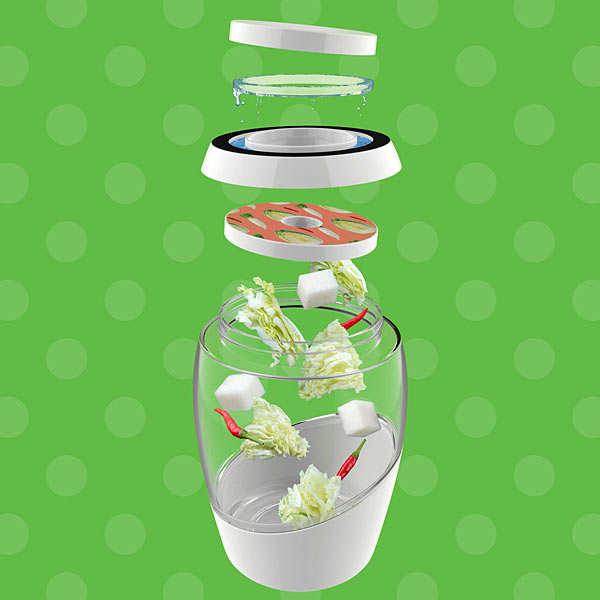 2L Fermentation Jar - Kimchi Edition