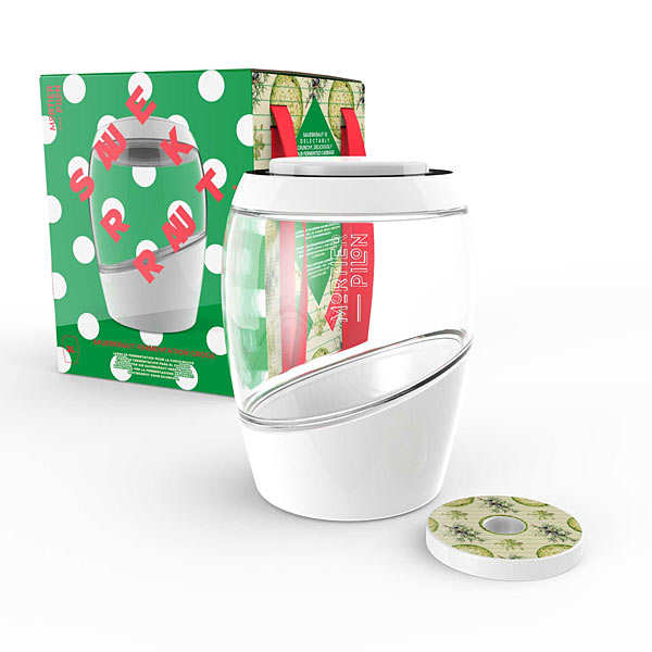 2L Fermentation Jar - Sauerkraut Edition