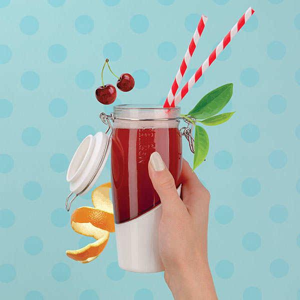 Swing-Top Bottle for Kombucha