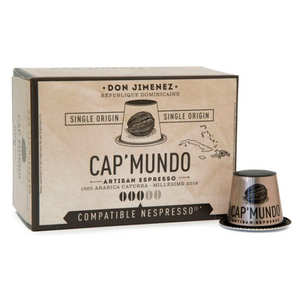 Cap'Mundo - Don Jimenez coffee - Nespresso® compatible capsules - Strength 3/5