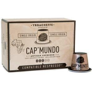 Cap'Mundo - Yrgacheffe coffee - Nespresso® compatible capsules - Strength 3/5