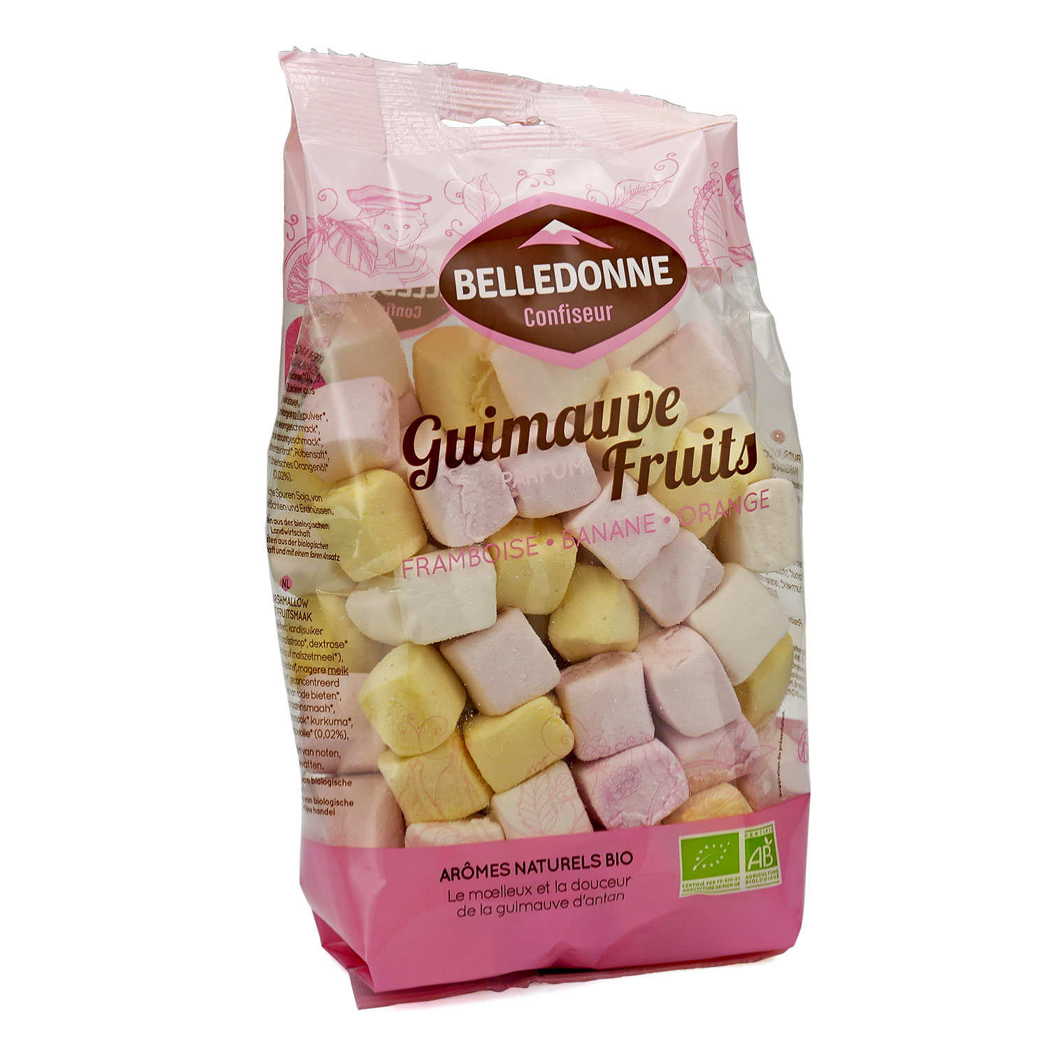 Organic Fruit Marshmallows in a Family Size