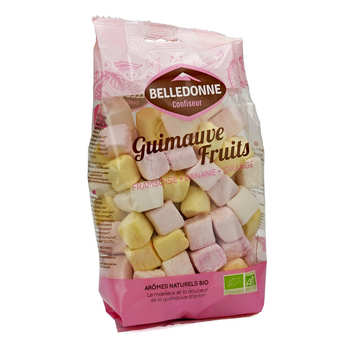 Belledonne Chocolatier - Organic Fruit Marshmallows in a Family Size