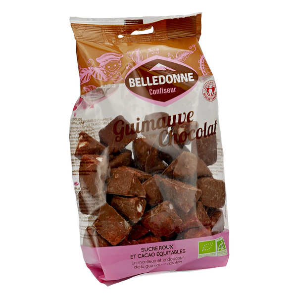 Guimauves au chocolat format familial bio