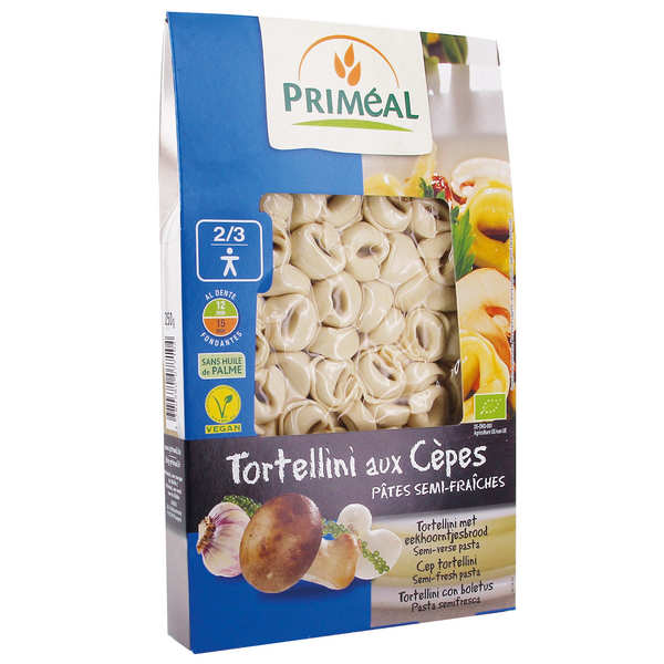 Organic Muschrooms Tortellini