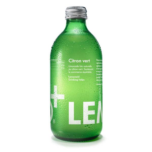 Organic and fairtrade Lime Lemonaid