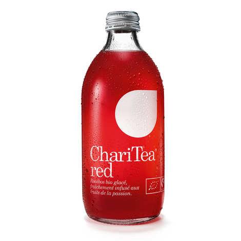 Charitea - Charitea Red - Ice Tea au fruit de la passion bio et équitable