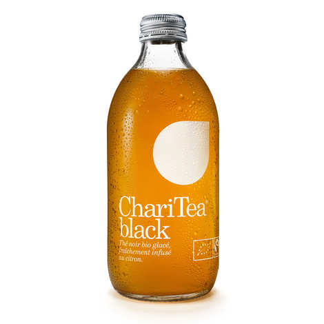 Charitea - Charitea Black - Ice Tea au citron bio et équitable