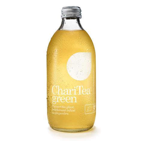 Charitea - Charitea Green - Ice Tea au gingembre bio et équitable