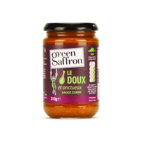 Sauce curry doux