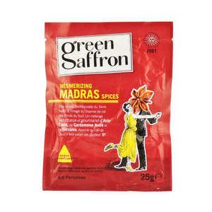 Green Saffron - Mélange d'épices madras