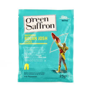 Green Saffron - Rogan Josh Spices Blend