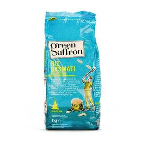 Green Saffron - Riz basmati ancien