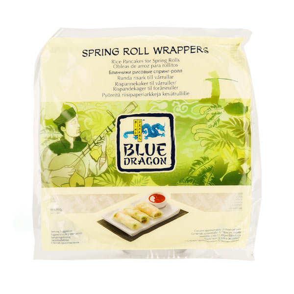 Feuilles de riz pour rouleaux de printemps