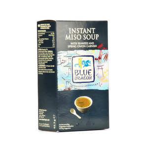 Blue Dragon - Soupe miso instantanée aux algues et oignons nouveaux