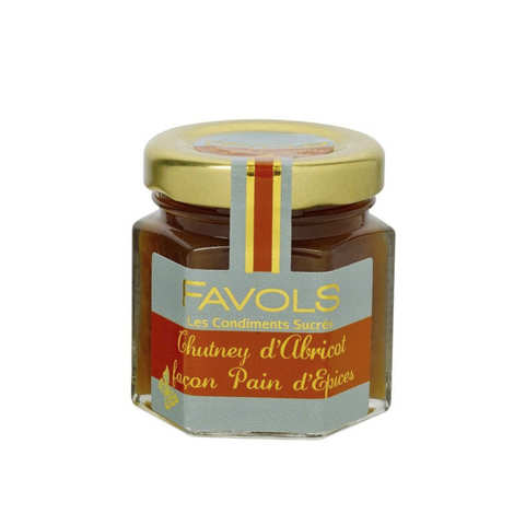 Favols - Apricot Chutney with Gingerbread Spices