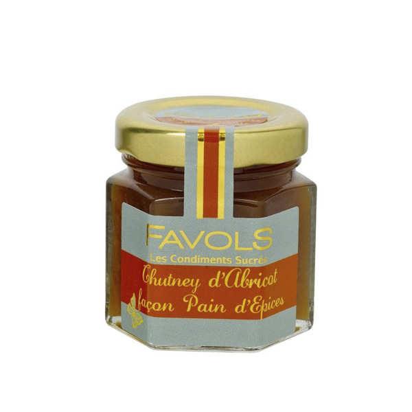 Chutney d'abricot - Façon pain d'épices