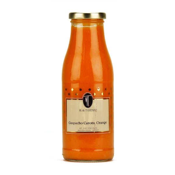 Gaspacho de carotte et orange
