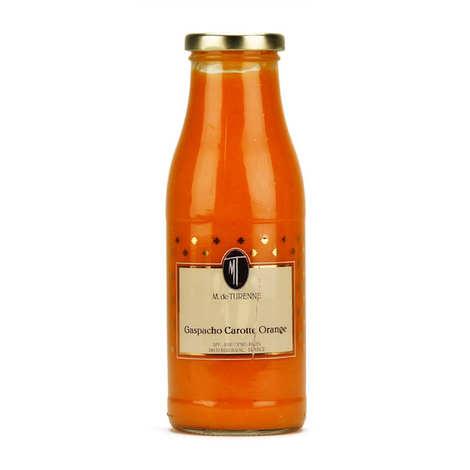 M. de Turenne - Gaspacho de carotte et orange