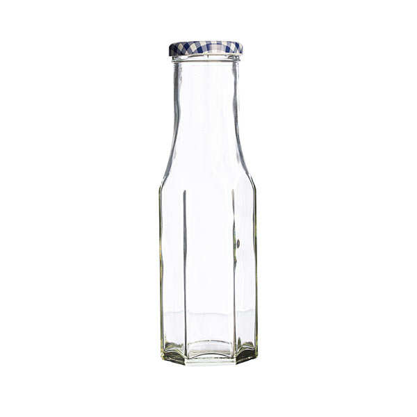 Hexagonal Twist Top Bottle
