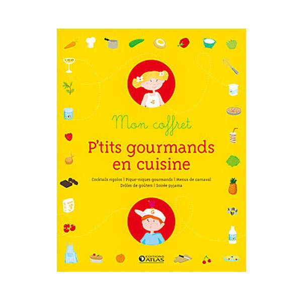 Mon coffret p'tits gourmands en cuisine - L. Laurendon et M. Trintzius