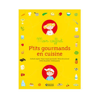 Glénat - Mon coffret p'tits gourmands (Book in french)