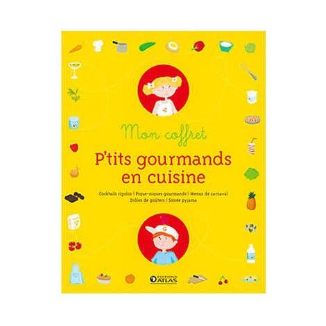 Glénat - Mon coffret p'tits gourmands en cuisine - L. Laurendon et M. Trintzius