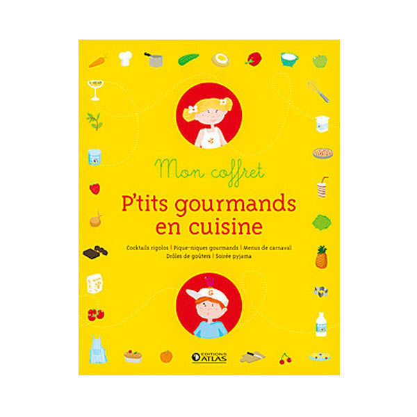 Mon coffret p'tits gourmands (Book in french)