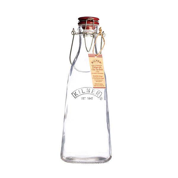bouteille en verre avec bouchon et anse kilner. Black Bedroom Furniture Sets. Home Design Ideas