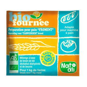 Nat-Ali - Levain de froment Biofournée - préparation boulangère bio