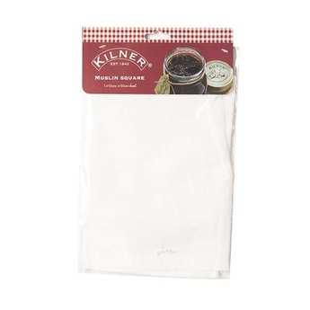 Kilner - Torchon en mousseline de coton 50x50 cm
