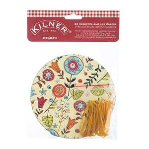 Kilner - Décor champêtre pour pots de confitures et élastiques
