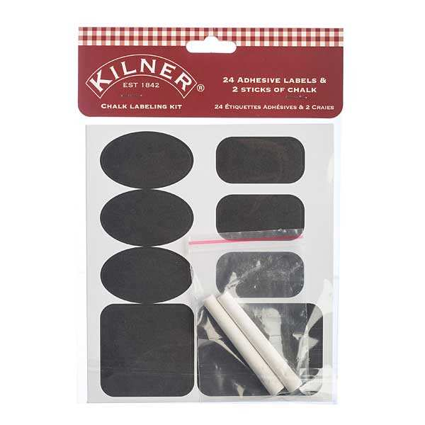 Chalk Labelling kit with white chalk