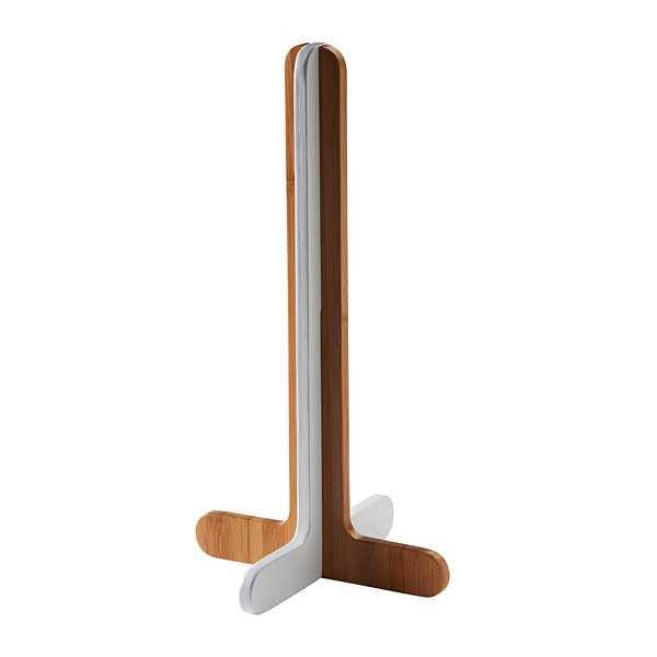 Dévidoir pour essuie-tout en bambou