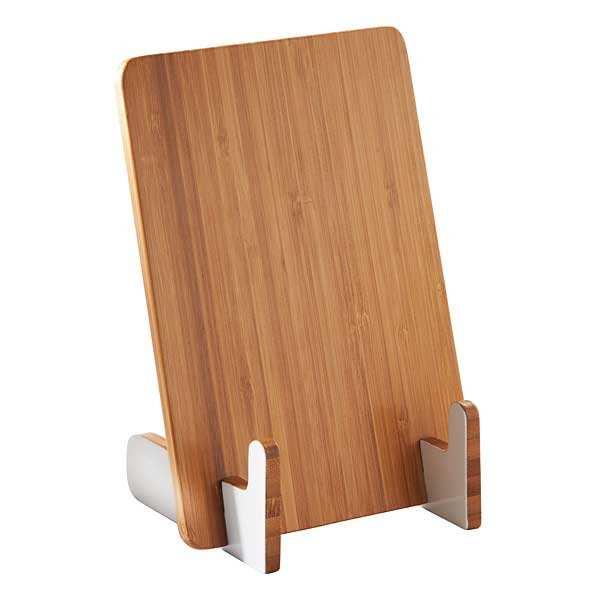 repose tablette ou livre de cuisine en bambou kilner. Black Bedroom Furniture Sets. Home Design Ideas
