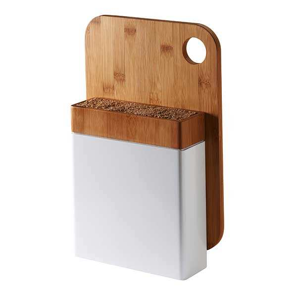 Knife Block and Chopping Board Set