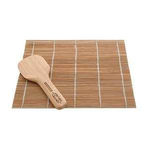 Typhoon - Tapis et spatule pour sushis en bambou