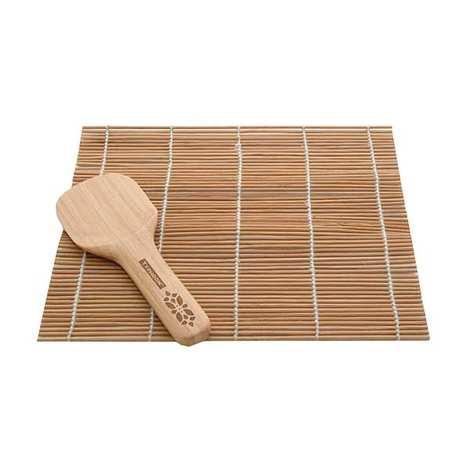 Typhoon - Bamboo Sushi Rolling Mat and Spatula