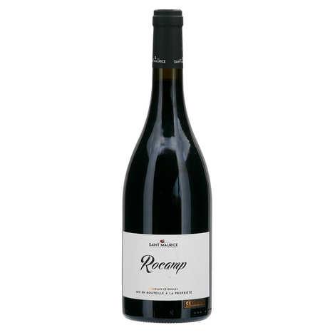 Cave St Maurice - Rocamp vin rouge - IGP Cévennes