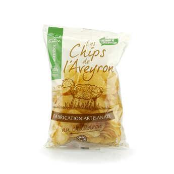Les Chips de l'Aveyron - Roquefort Potato Crisps from Aveyron