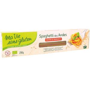 Ma vie sans gluten - Spaghetti des andes 3 céréales bio sans gluten