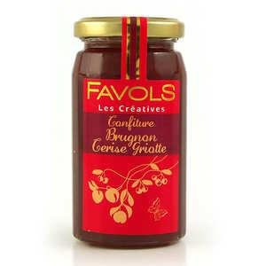 Favols - Nectarine & Morello Cherry Jam