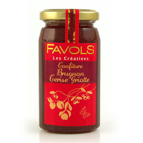 Favols - Nectarine & Morello Cherry Jam