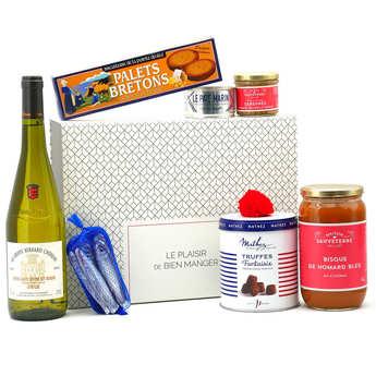 BienManger paniers garnis - Coffret cadeau Escale Gourmande