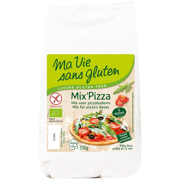 Mix' pizza bio sans gluten