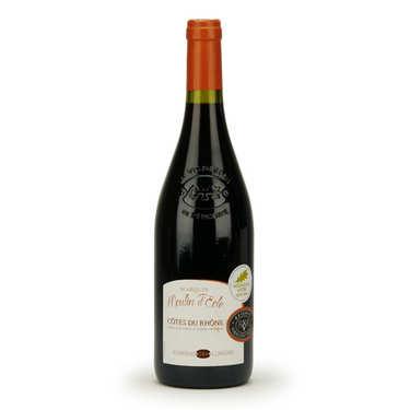 Côtes du Rhône Marquis Moulin d'Eole - Red wine