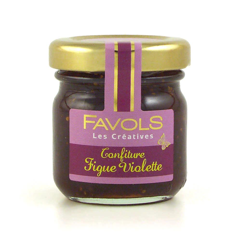 Confiture de figue violette - Les Créatives Favols