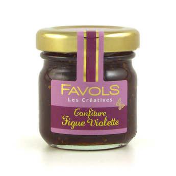 Favols - Confiture de figue violette - Les Créatives Favols