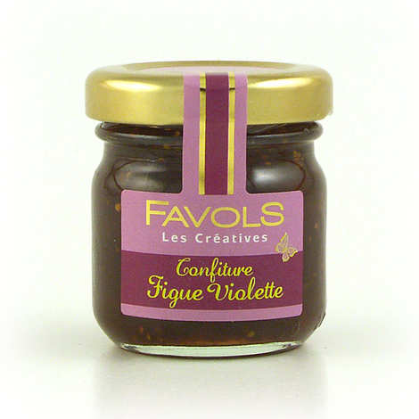 Favols - Confiture de figue violette - Les Créatives Favols