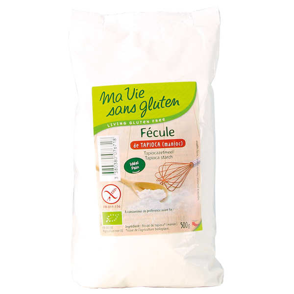 Organic Gluten-Free Tapioca (Manioc) Starch